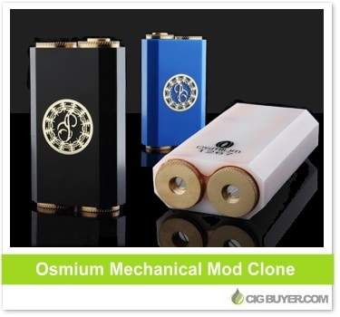 Osmium Mechanical Box Mod Clone