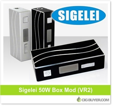 Sigelei 50W Box Mod V2 (VR2) Deal