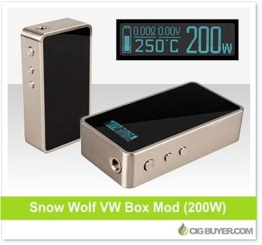 Snowwolf 200W Box Mod