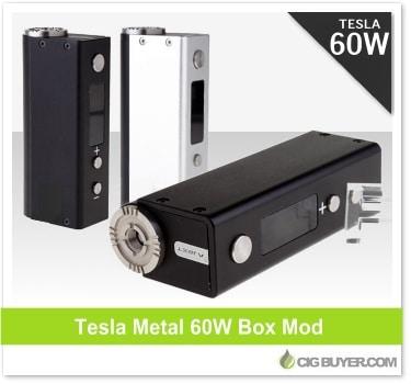 Tesla Metal 60W Box Mod