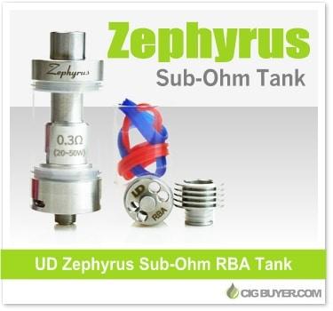 Youde (UD) Zephyrus Sub-Ohm Tank