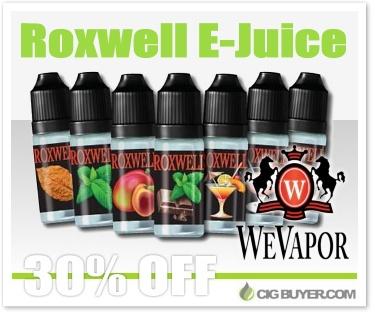 WeVapor (Roxwell) E-Liquid Deal