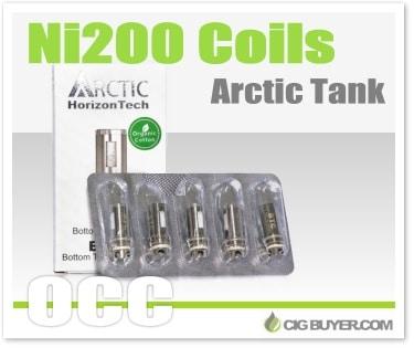 Arctic Tank Nickel (Ni200) Coils