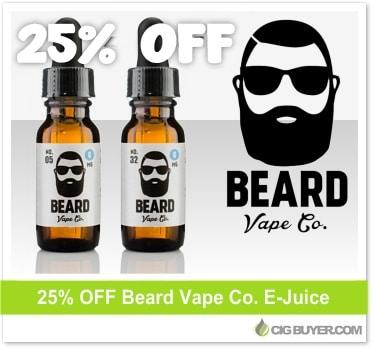 Beard Vape E-Juice Deal