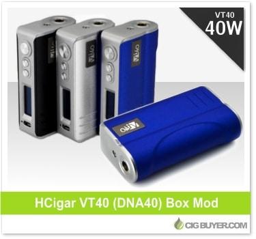 HCigar VT40 (DNA40) Box Mod