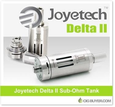 Low Price Joyetech Delta 2 Tank Deal