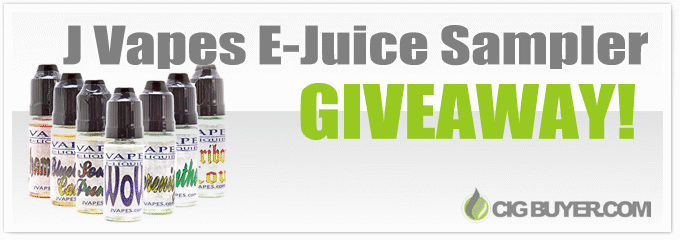 JVapes E-Juice Sampler Giveaway