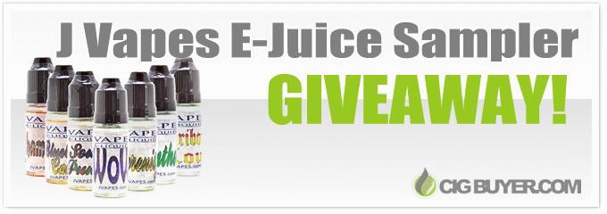 JVapes E-Juice Sampler Giveaway