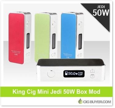 King Cig Mini Jedi 50W Mod Clone