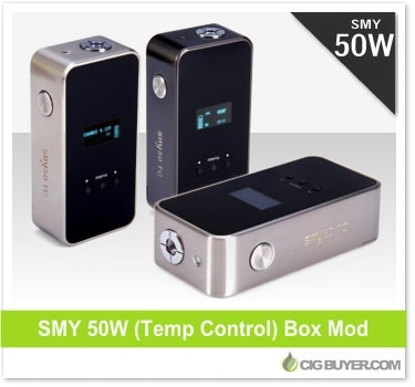 SMY 50 Box Mod TC (Temp Control)