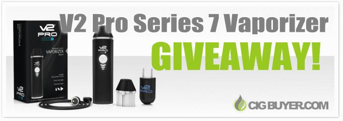 V2 Pro Series 7 Vaporizer Giveaway