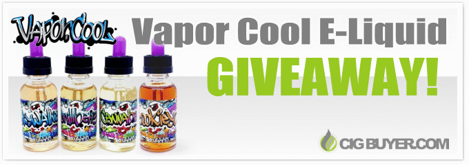 Vapor.Cool E-Liquid Giveaway