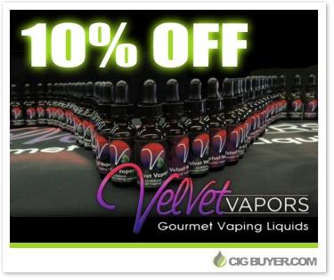 10% OFF Velvet Vapors E-Liquid