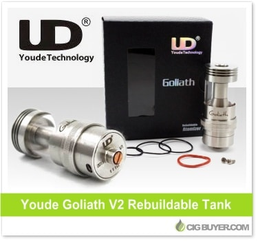 Youde Goliath V2 RTA Tank