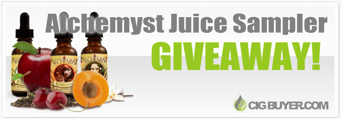 Alchemyst E-Juice Samplers Giveaway