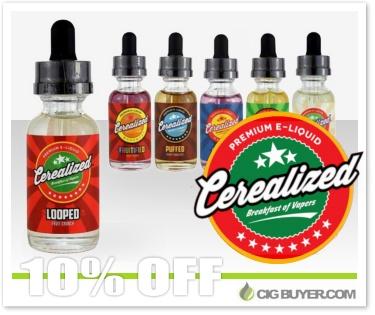 Cerealized E-Liquid Deal