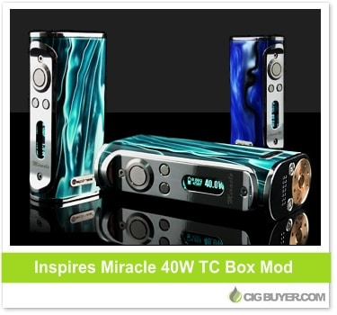 Inspires Miracle 40W Box Mod
