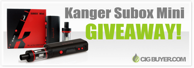 Kanger Subox Mini Kit Giveaway