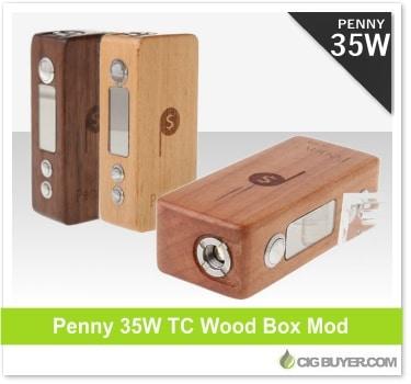 Penny 35W TC Wood Box Mod