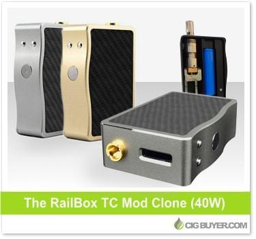 Rail Box Mod Clone (40W)