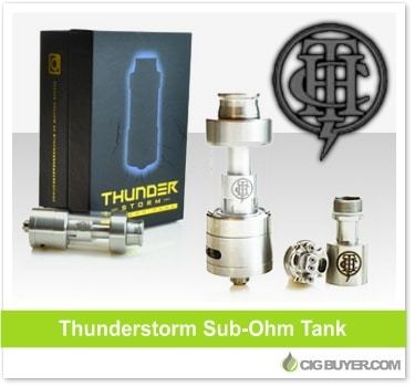 Thunderstorm Sub-Ohm Tank