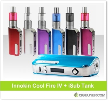Innokin Cool Fire 4 Combo Kit