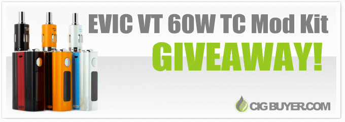Joyetech EVIC VT Mod Kit Giveaway