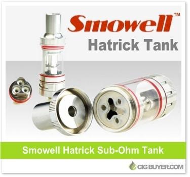 Smowell Hatrick Sub-Ohm Tank