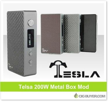 Tesla 200W TC Box Mod