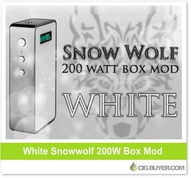 White Snowwolf 200W Mod