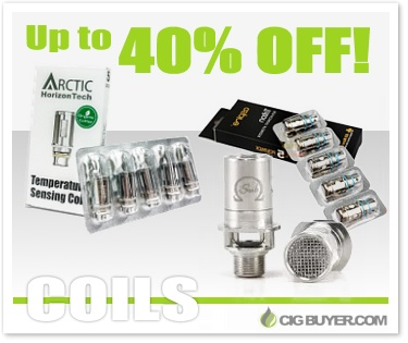 Up to 40% OFF Coils at Ecig.com