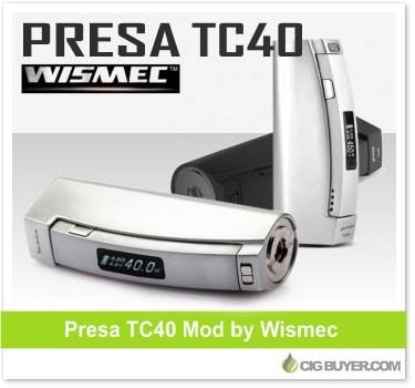 Wismec Presa TC40W Mod