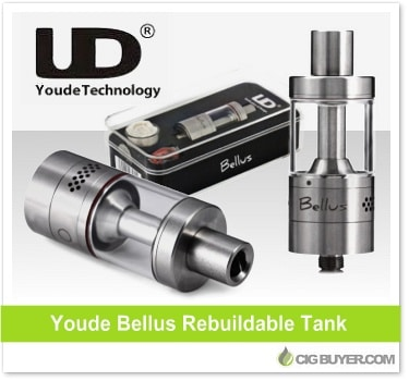 Youde Bellus RTA Tank by UD