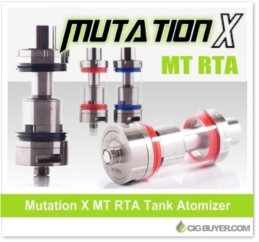 Mutation X MT RTA Tank