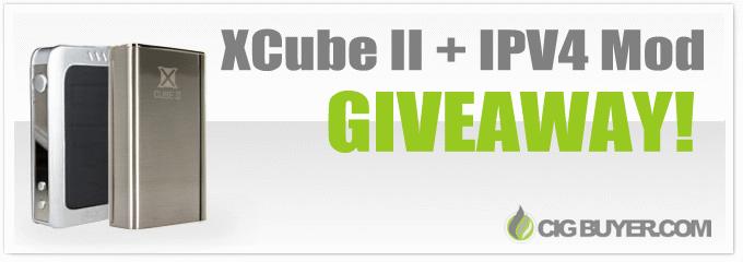 Smok XCube II + IPV4 Mod Giveaway