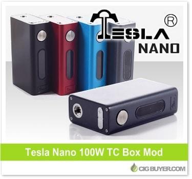 Tesla Nano 100W Box Mod