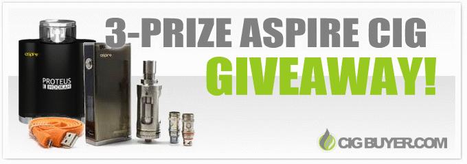 Aspire Giveaway (Proteus, Odyssey & Triton)