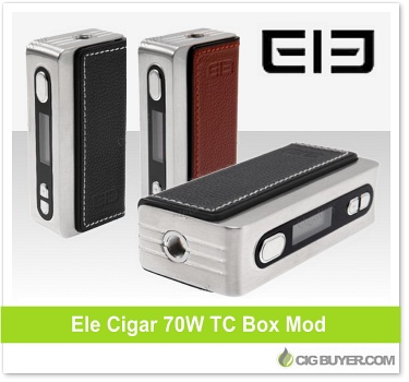 Elephone Ele Cigar 70W TC Box Mod