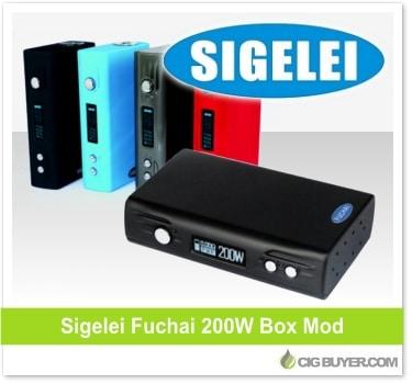 Sigelei Fuchai 200W Box Mod