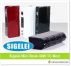 Sigelei Mini Book 40W Mod – ONLY $19.94!