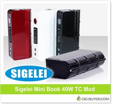 Sigelei Mini Book 40W Box Mod