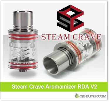 Steam Crave Aromamizer RDA V2