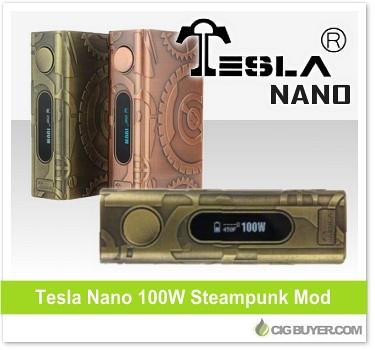 Tesla Nano 100W Steampunk Mod