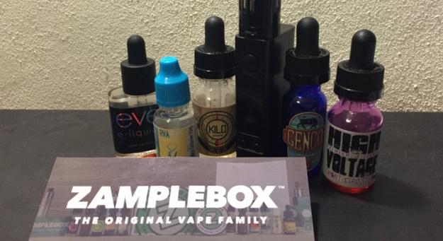 Third Zample Box Shipment