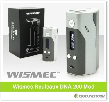 wismec reuleaux dna 200w mod 139 99 cig buyer com