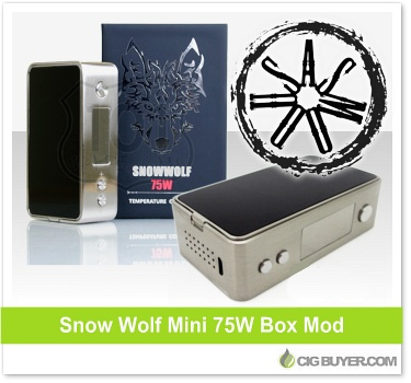 Snowwolf Mini 75W Box Mod