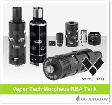 Vapor Tech Morpheus RBA Tank