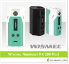 Wismec Reuleaux RX200 Mod – $36.49