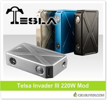 Tesla Invader 3 Box Mod