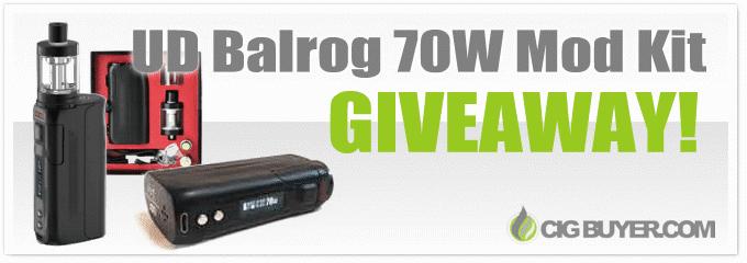 UD Balrog 70W Mod Kit Giveaway